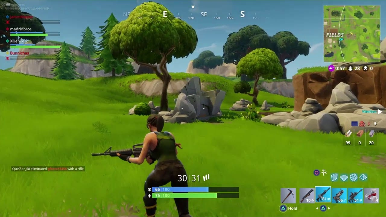 Fortnite Privates Spiel