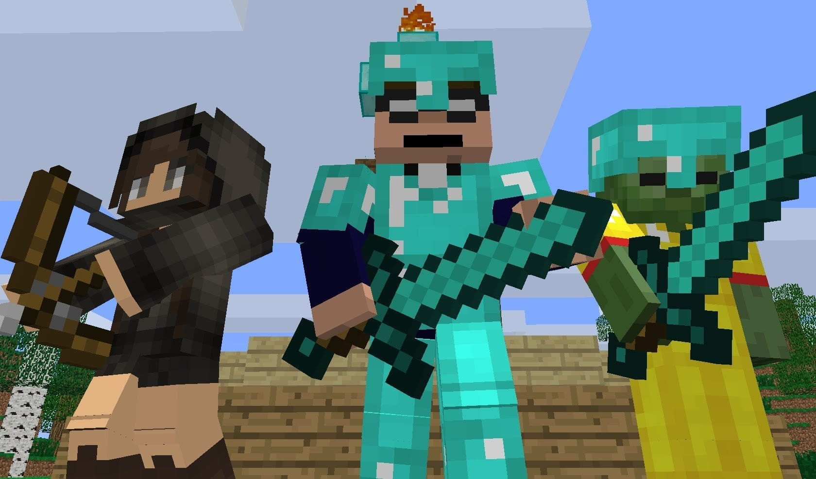 Minecraft Hunger Games Is The Best Battle Royale Game Easily - Minecraft spiele original
