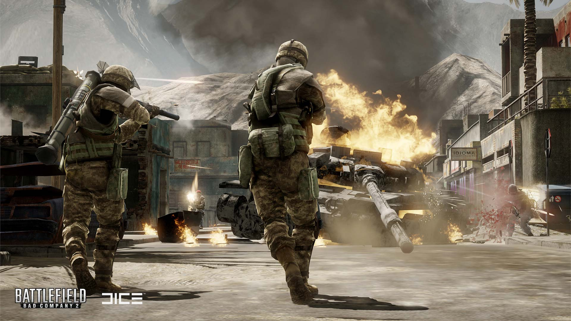 Battlefield: bad company 2 delivers destruction, vehicular warfare, squad play and open world environments in an action game.