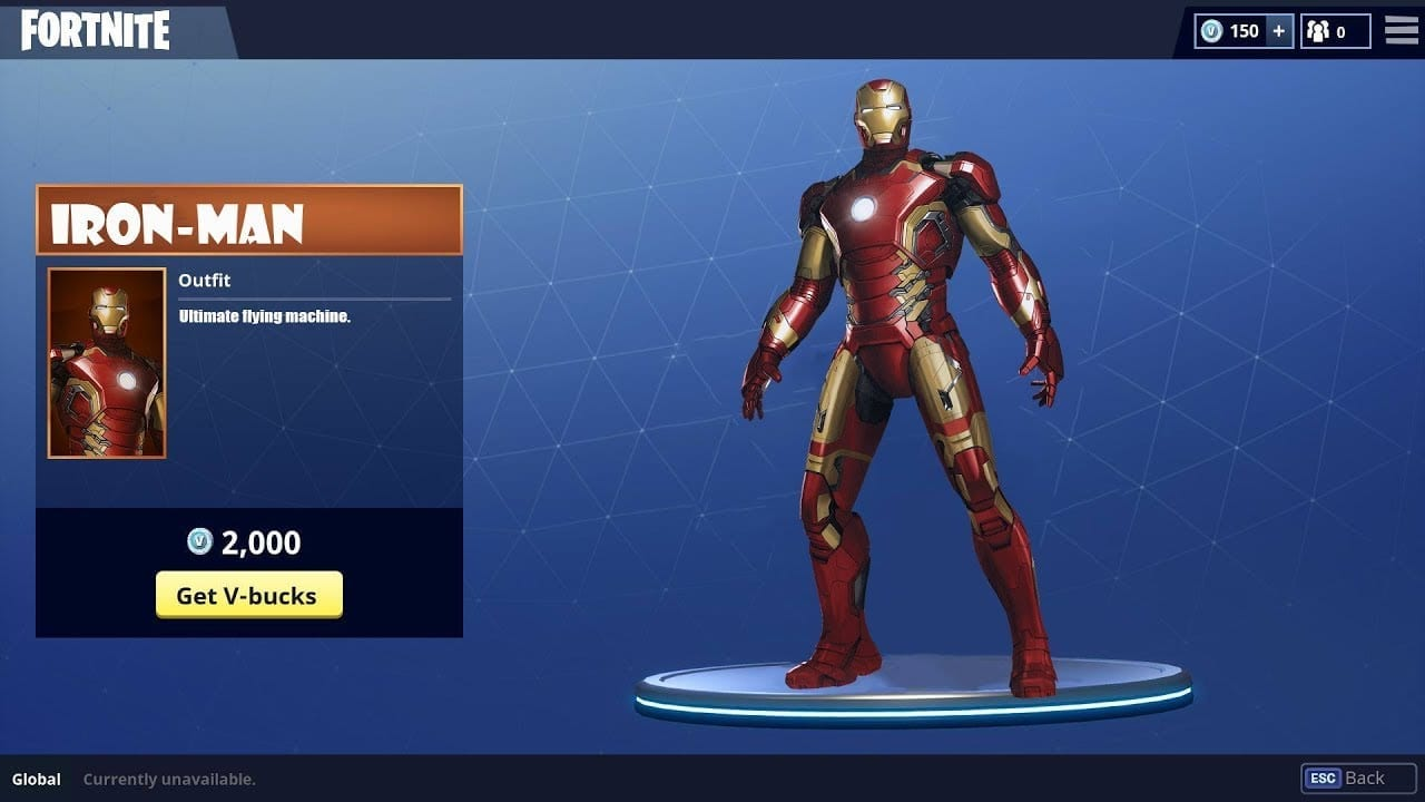 Iron Man Fortnite Png Tons of awesome fortnite iron man wallpapers to download for free. iron man fortnite png