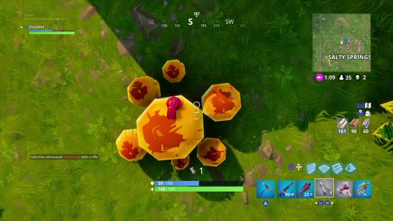 however these new edibles grant you 5 shield instead of health finally us vegans can play fortnite without having to worry what is in those potion bottles - fortnite mushrooms map