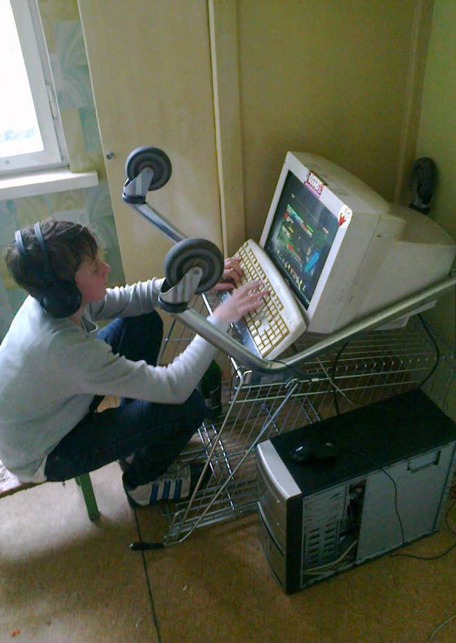 Fantastic We Might Have Found The Worst Gaming Set Ups Of All Time Ibusinesslaw Wood Chair Design Ideas Ibusinesslaworg