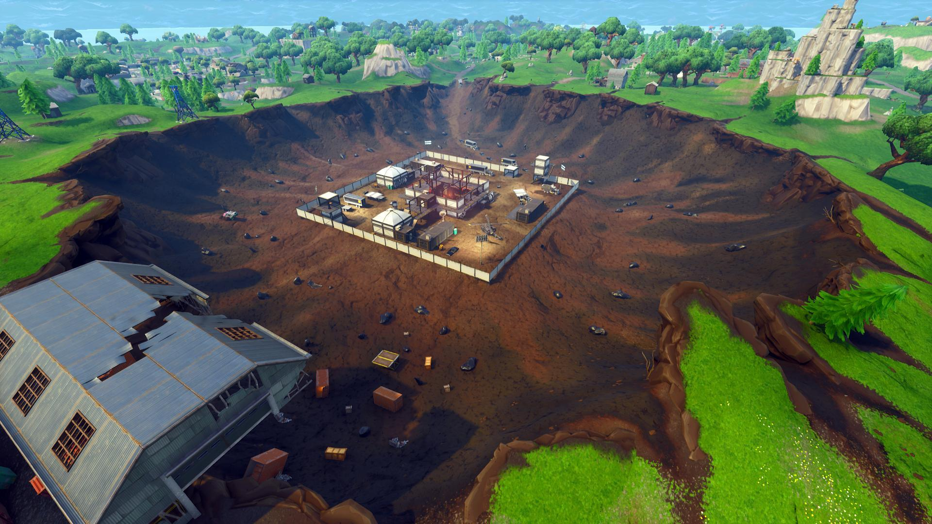 treasure map in dusty divot
