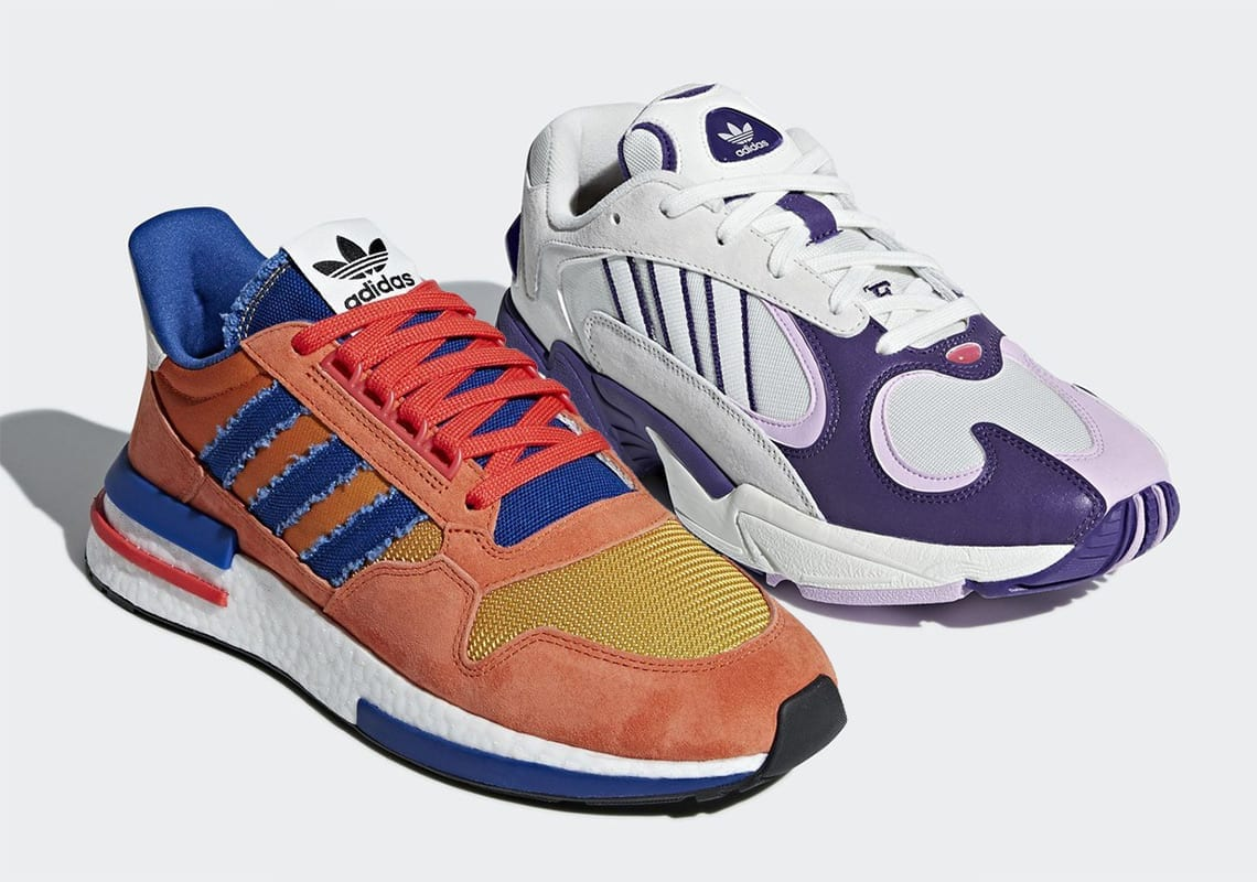 quite nice 9c3cd 455ce Adidas  Dragon Ball Z Collection Starts With Son Goku And Frieza