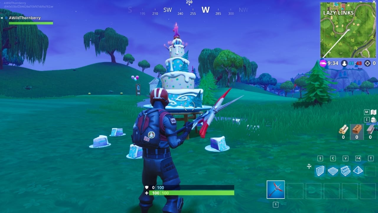 the birthday challenges haven t loaded up and it hasn t given me the back bling as i know i ve completed them fortnite br epicgames - fortnite birthday challenges