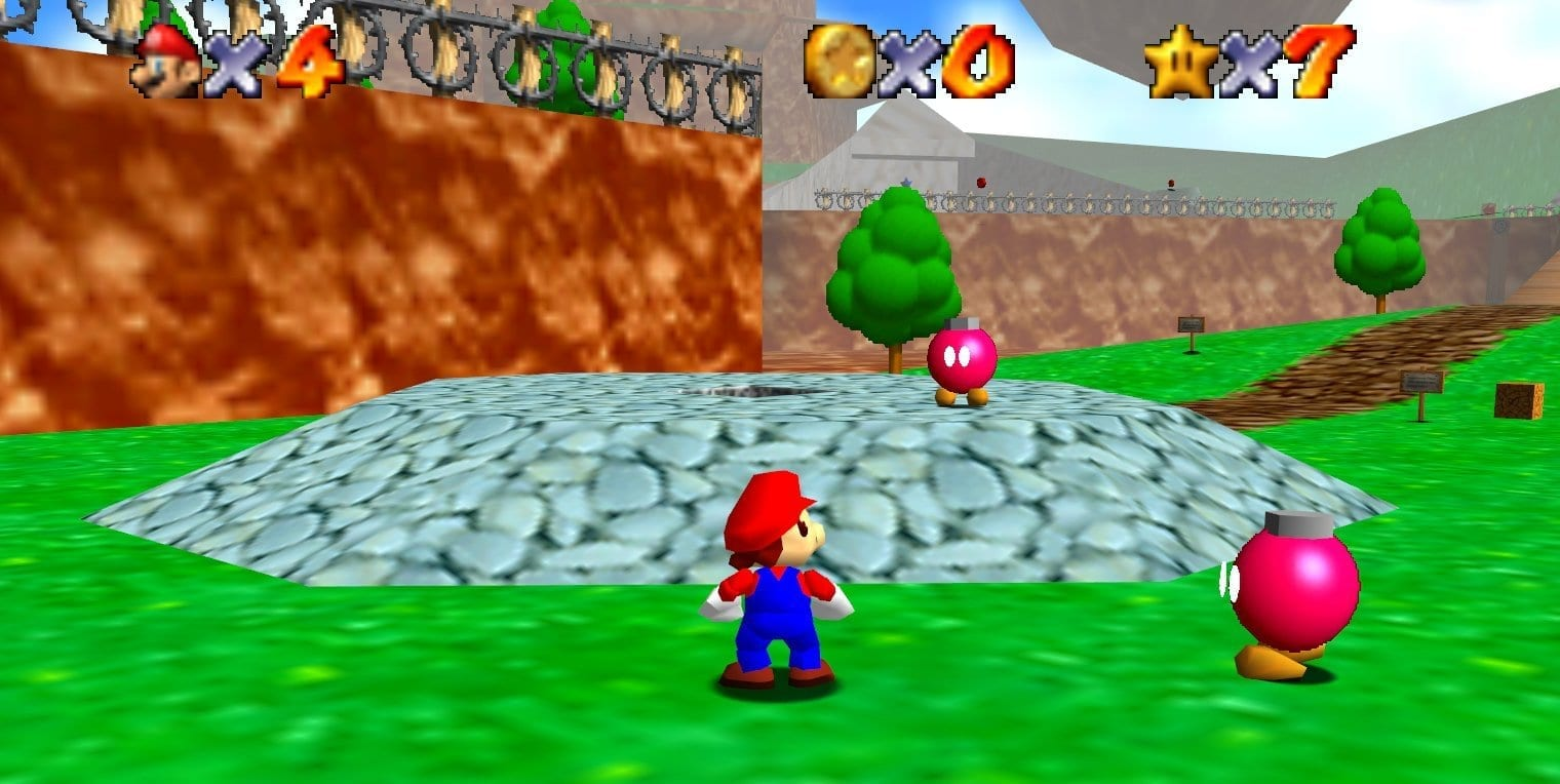 You Can Now Download A Super Mario 64 Unreal Engine 4 Demo