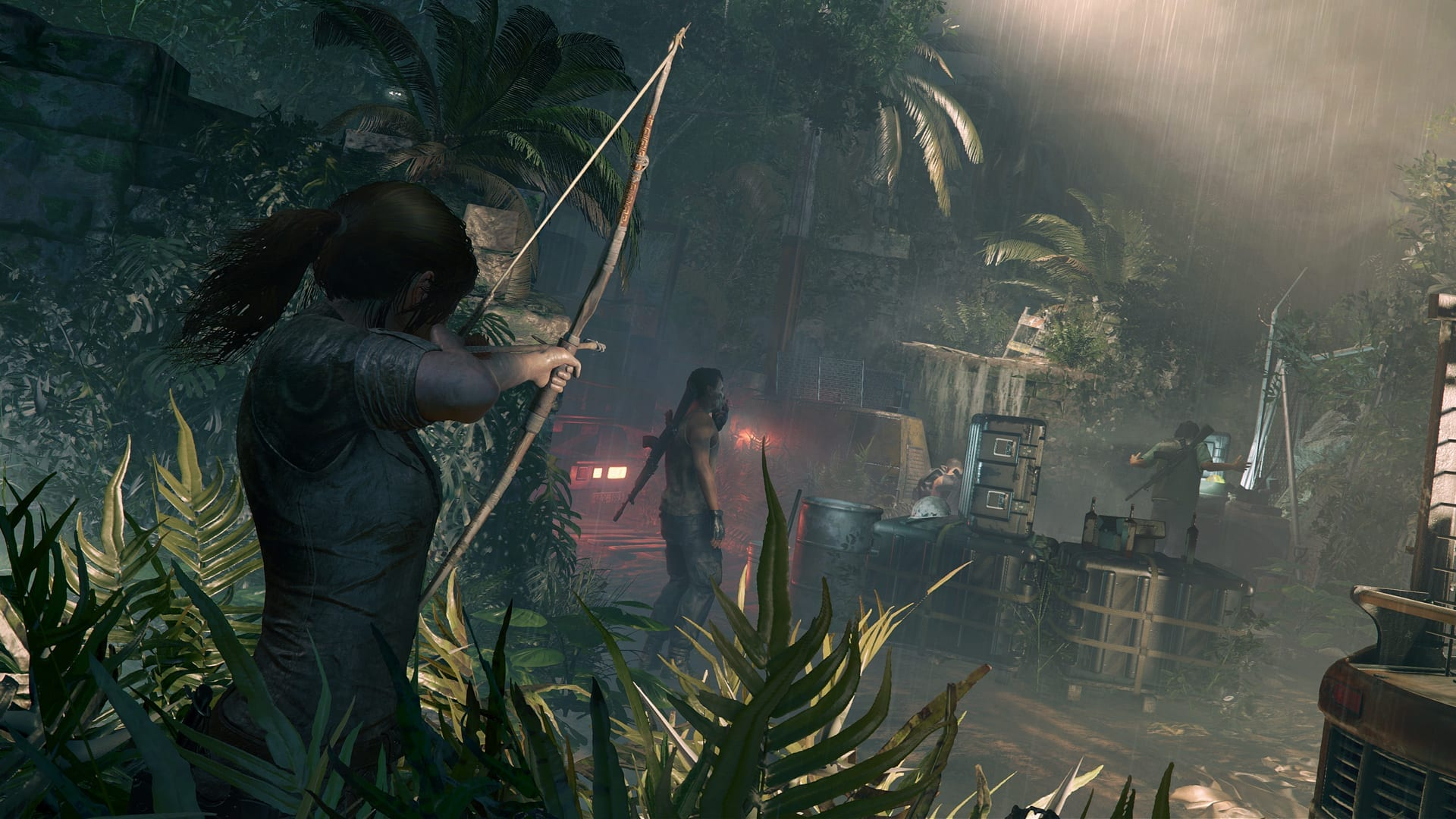 Leaked Shadow Of The Tomb Raider Images Show Young Lara Exploring