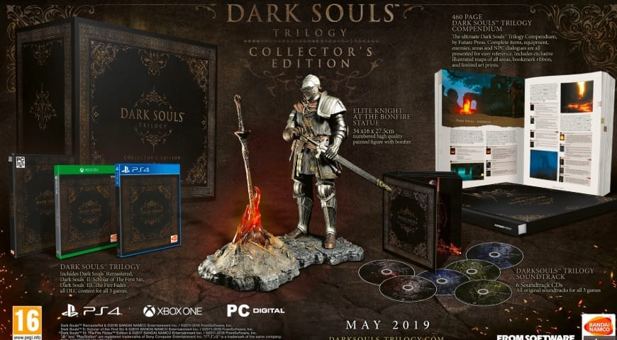 The Dark Souls Trilogy Is One Of The Most Expensive Collector's Editions Ever