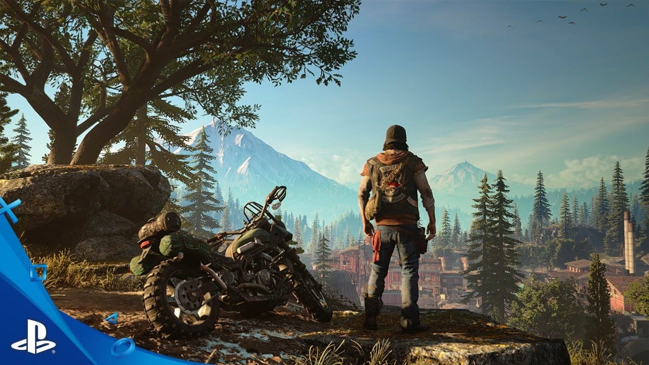 PlayStation Exclusive Days Gone Gets A New Open World Trailer