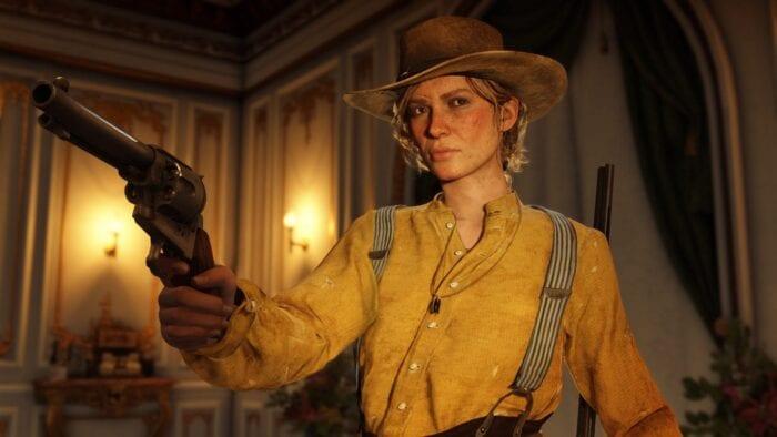 Sadie in Red Dead Redemption 2