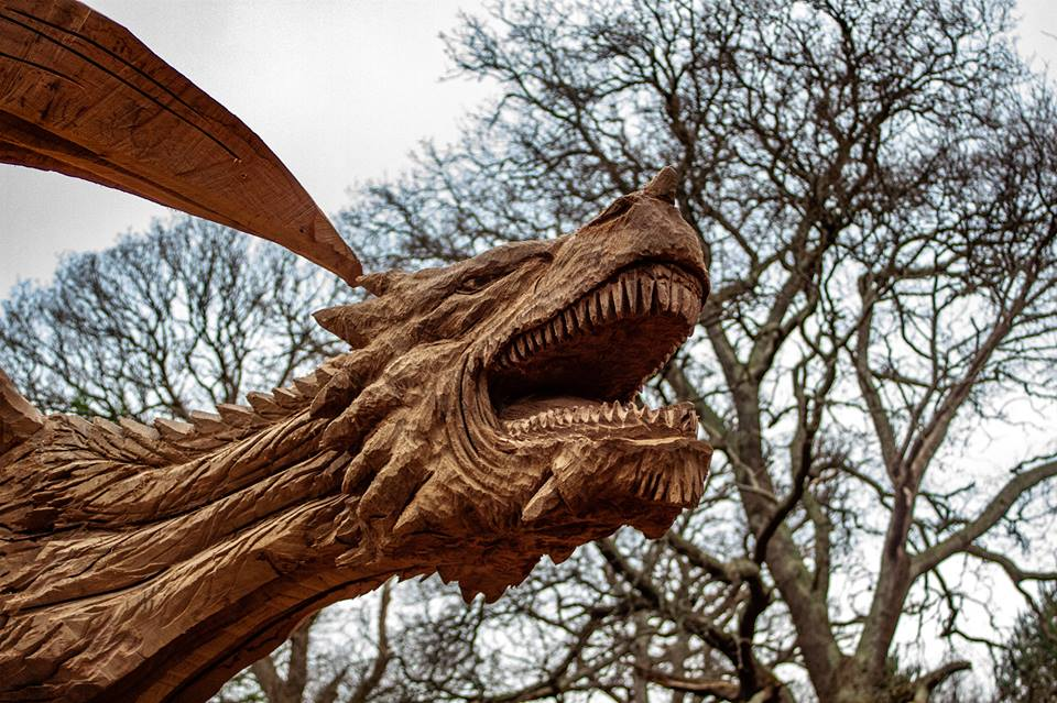 Man Who Carved Bethesda Dragon Gets Job From Game Of Thrones