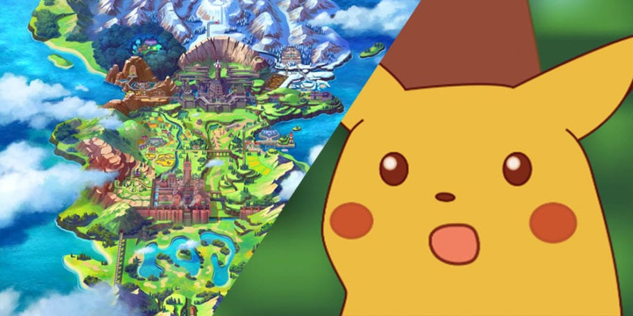 Pokemon Sword And Shield S New Galar Region Isn T Actually Set In