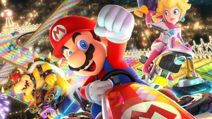 Mario in Mario Kart