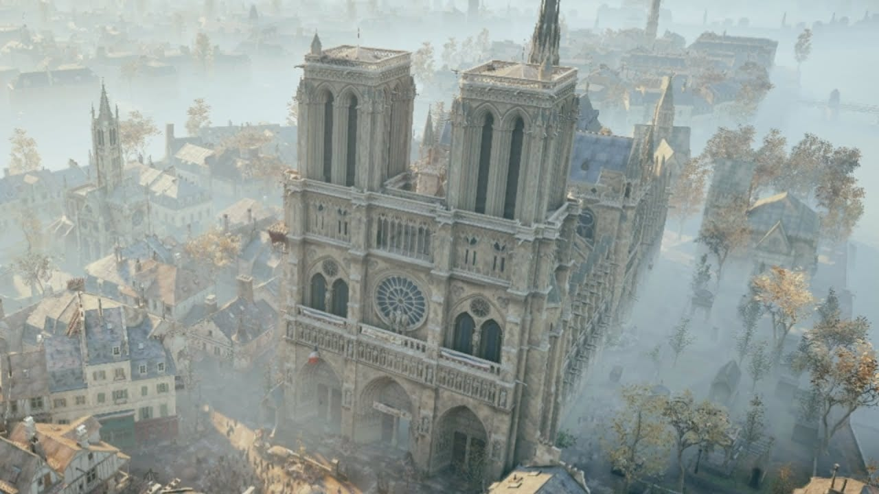 Recreating Notre Dame In Assassin's Creed Took Two Years