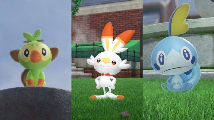 Pokemon Sword And Shield Starter Evolutions