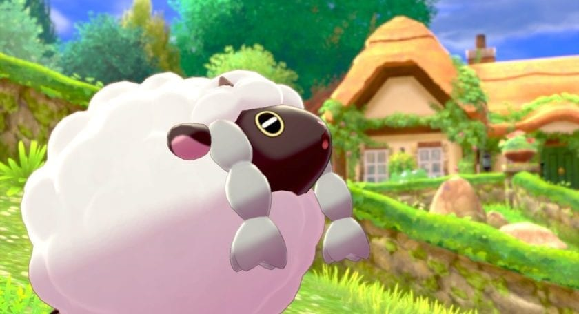 Wooloo in Pokémon Spada e Scudo.