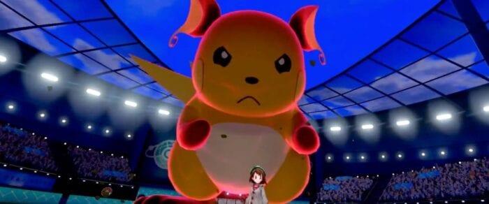 raichu in sword shield pokemon