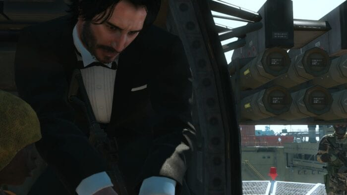 Keanu Reeves Has Been Modded Into Metal Gear Solid 5 - ZetGaming