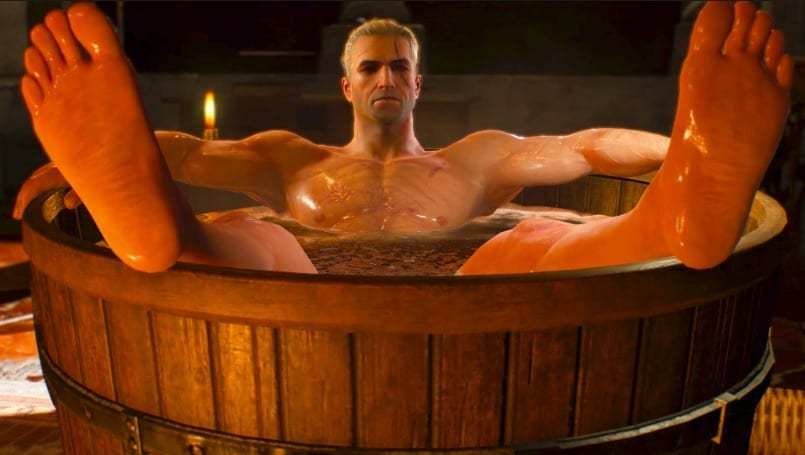 Geralt S Bathtub Scene Is In Netflix S The Witcher Thirsty