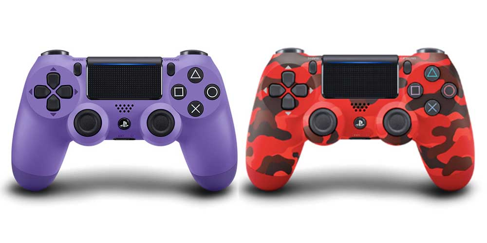 Four Brand-New DualShock Controller Colours Are Coming