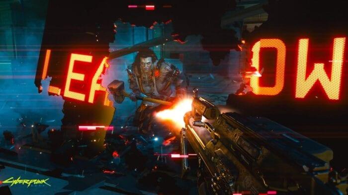 Image of boss fight from Cyberpunk 2077