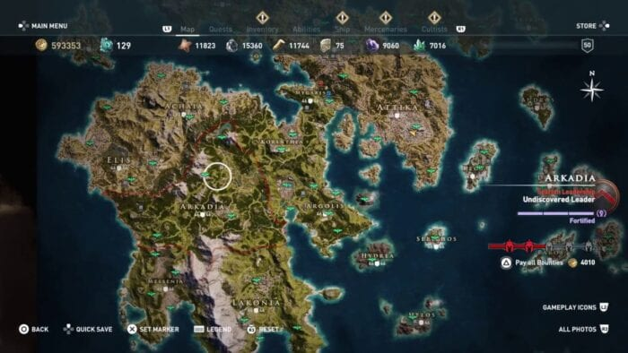 Assassin S Creed Valhalla Map Will Be Bigger Than Odyssey S