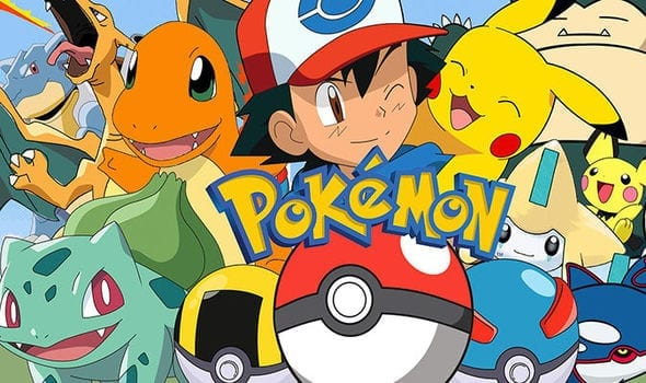 pokemon friends hanging out with ash