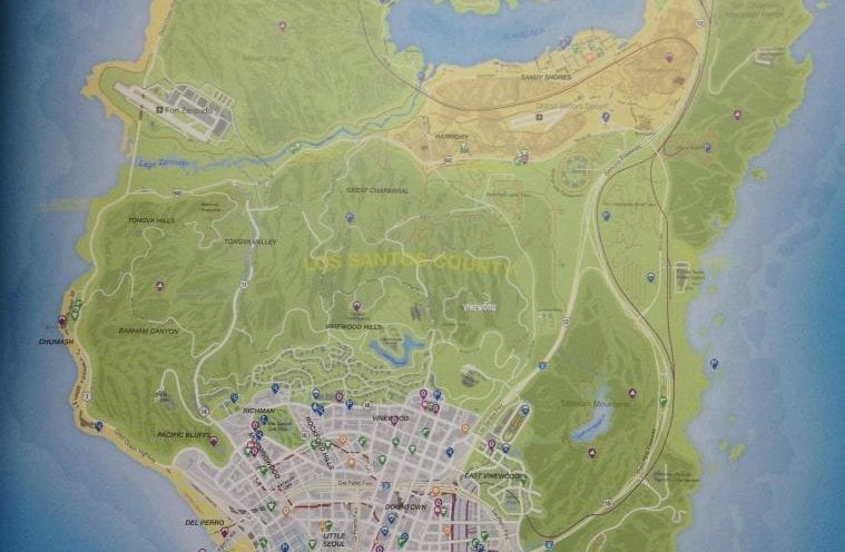 GTA Map Cyberpunk 2077 Map