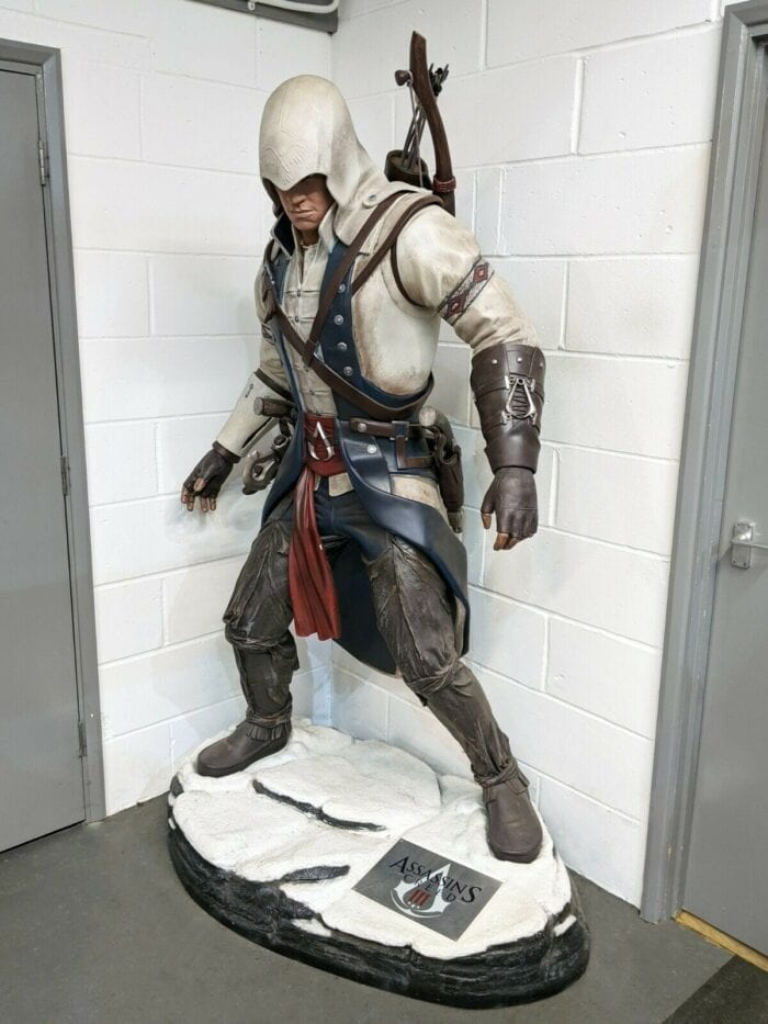 Life Size Assassin S Creed Statue Is Up For Grabs On Ebay
