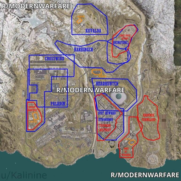 battle royale map modern warfare