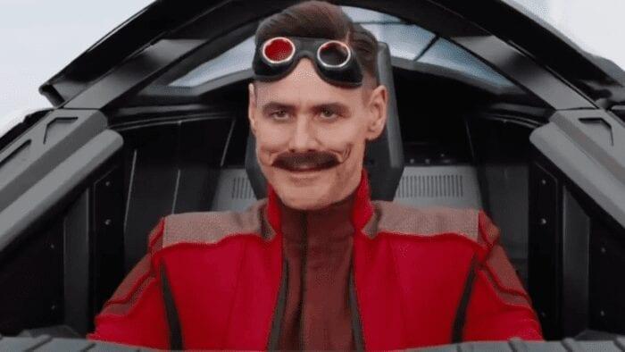 Jim carrey in sonic movie