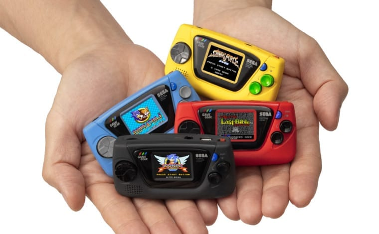 SEGA Reveals Tiny 'Console,' The Game Gear Micro