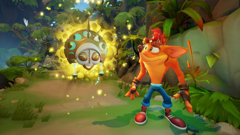 Image from Crash Bandicoot 4