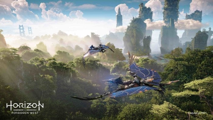 Image from Horizon game