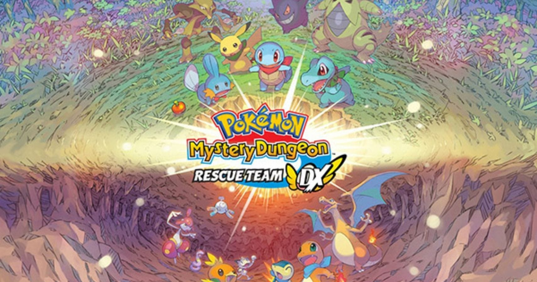 Promotional Image of Pokemon Mystery Dungeon: Rescue Team DX