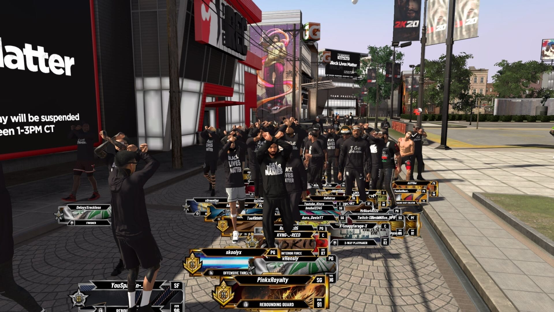 NBA 2K20 Adds Black Lives Matter T-Shirts To The Game