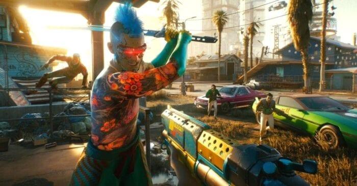 Screenshot of Cyberpunk 2077