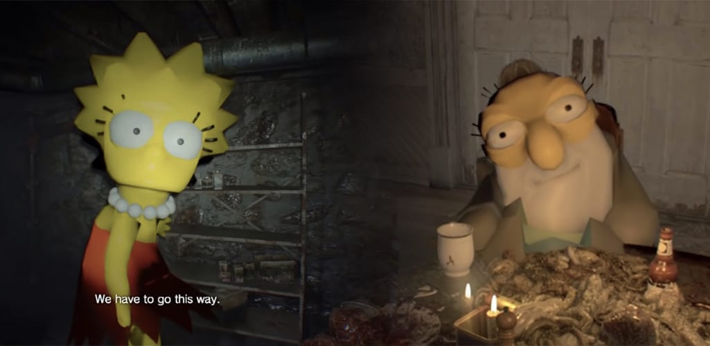 This Resident Evil 7 Simpsons Mod Is The Best Thing You Ll Ever See