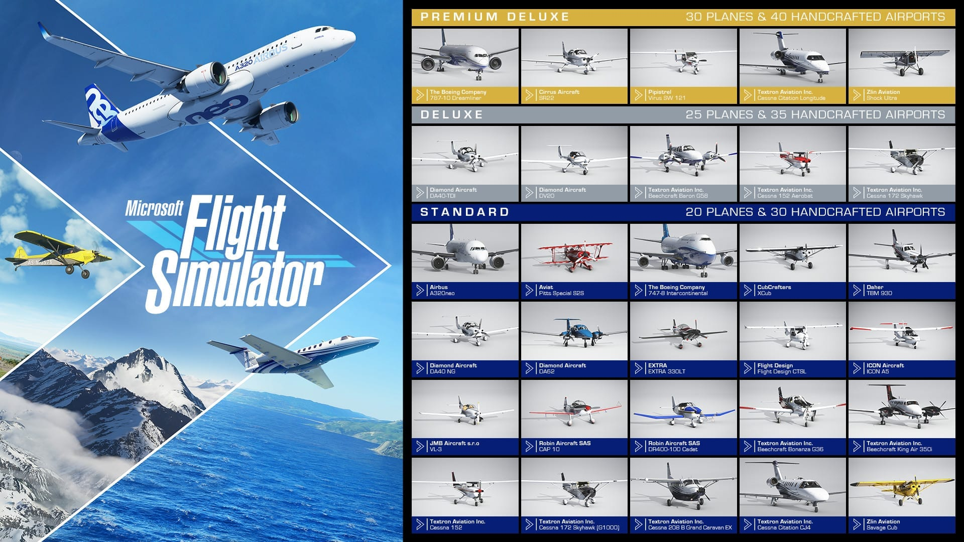 Screenshot of Flight Simulator