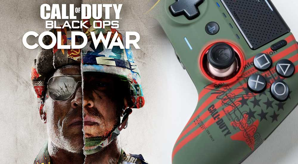 NACON Reveals Stunning Call Of Duty: Black Ops Cold War Controller