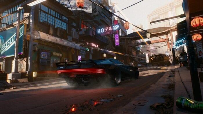 car in cyberpunk 2077