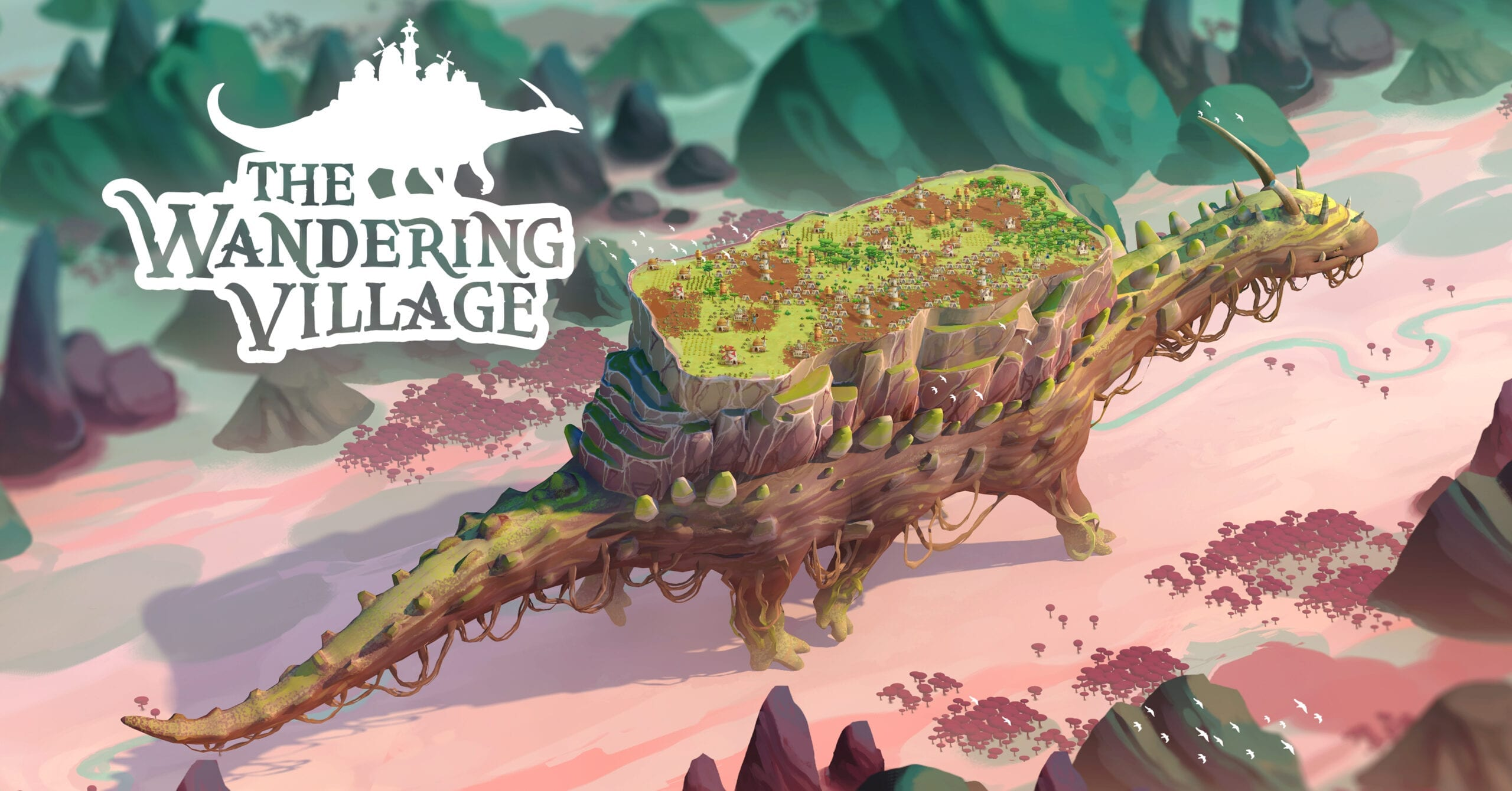Build & Survive Atop A Giant Creature In 'The Wandering Village'