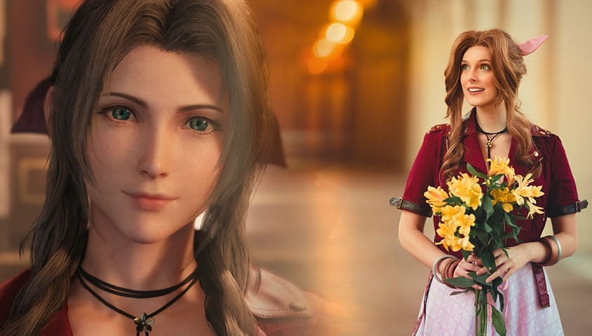 Aerith Actor's Final Fantasy 7 Remake Cosplay Has Won The Internet