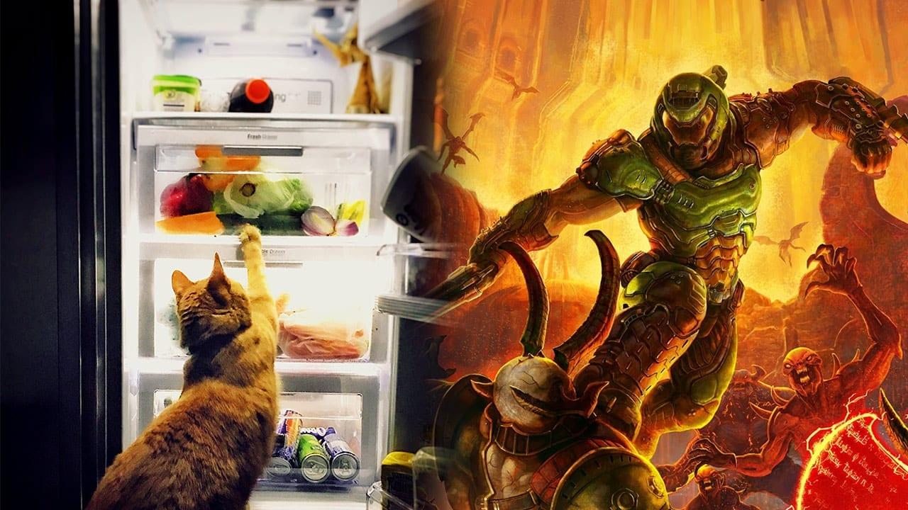 You Can Now Play Doom Eternal on a Fridge - That's Pretty Cool!