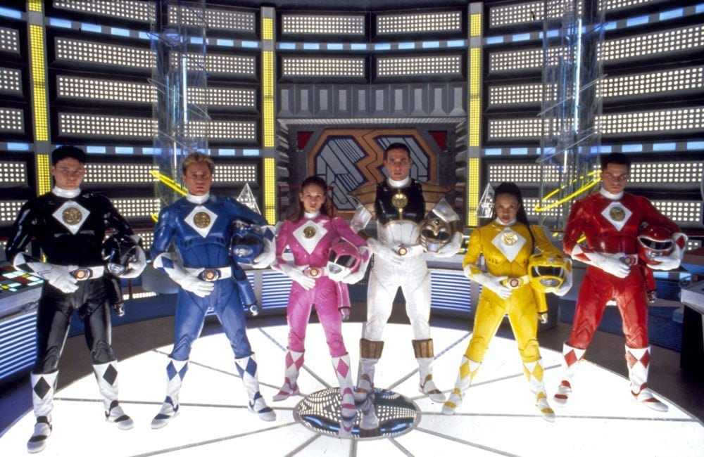 Mighty Morphin Power Rangers cast