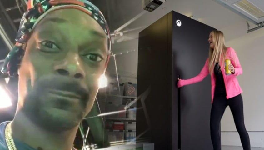 Snoop Dogg Has An Official Xbox Series X Fridge Because Memes