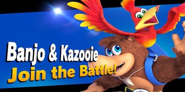 Banjo and Kazooie in Super Smash Bros. Ultimate