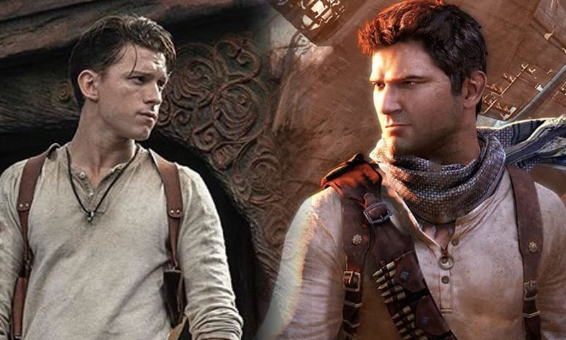Tom Holland as Nathan Drake