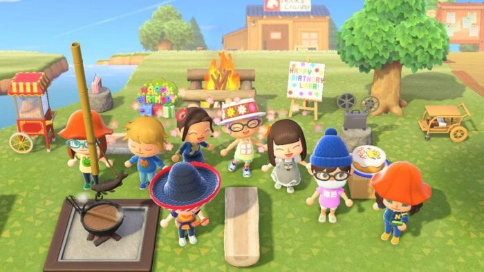 animal crossing party