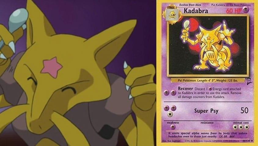 Nintendo Now Has Permission To Print Kadabra Pokémon Cards Again